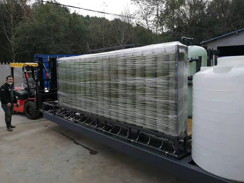 内蒙古移动式应急垃圾渗滤液处理设备 30 T/D